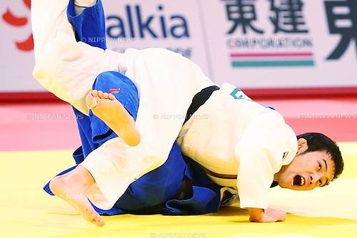 (L-R)<br /> Mudranov Beslan (RUS),<br /> Naohisa Takato (JPN), <br /> DECEMBER 4, 2015 - Judo : <br />  IJF Grand Slam Tokyo 2015 International Judo Tournament<br /> Men's -60kg Final <br /> at Tokyo Metropolitan Gymnasium, Tokyo, Japan. <br /> (Photo by Shingo Ito/AFLO SPORT)