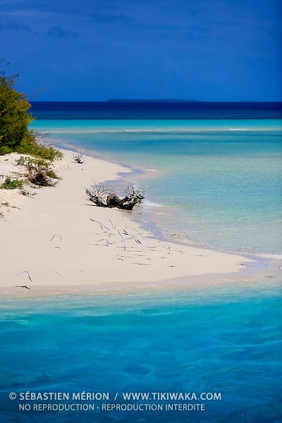 Plage de Mouli, Ouvéa, Nouvelle-Calédonie