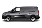 Car Driver side profile view of a 2019 Peugeot Partner Pemium 4 Door Car Van Side View