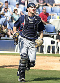 March 29, 2004:  Catcher Chris Heintz of the Minnesota Twins organization during Spring Training at Dunedin Stadium in Dunedin, FL.  Photo copyright Mike Janes/Four Seam Images