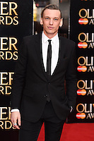 Jamie Campbell Bower arrives for the Olivier Awards 2015 at the Royal Opera House Covent Garden, London. 12/04/2015 Picture by: Steve Vas / Featureflash
