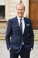 Martin Fry arrives for the VIP preview of the Royal Academy of Arts Summer Exhibition 2016