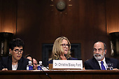 WASHINGTON, DC - SEPTEMBER 27:  Christine Blasey Ford (C) joined by her attorneys Debra Katz (L) and Michael Bromwich as she testifies before the Senate Judiciary Committee in the Dirksen Senate Office Building on Capitol Hill September 27, 2018 in Washington, DC. A professor at Palo Alto University and a research psychologist at the Stanford University School of Medicine, Ford has accused Supreme Court nominee Judge Brett Kavanaugh of sexually assaulting her during a party in 1982 when they were high school students in suburban Maryland. In prepared remarks, Ford said, ÒI donÕt have all the answers, and I donÕt remember as much as I would like to. But the details about that night that bring me here today are ones I will never forget. They have been seared into my memory and have haunted me episodically as an adult.Ó  (Photo by Win McNamee/Getty Images)
