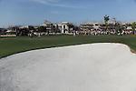 Dubai World Championship Golf. Earth Course,.Jumeirah Golf Estate, Dubai, U.A.E...Louis Oousthuizen lines up his putt on the 5th during the third round of the Dubai World Golf championship..Photo: Fran Caffrey/www.golffile.ie...