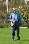 Colin Thubron at Christ Church during the Sunday Times Oxford Literary Festival, UK, 2-10 April 2011. <br />