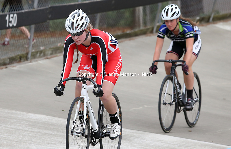 2015 Canterbury Track Cycling Carnival, Denton Park, Christchurch, New Zealand, Tuesday, January 06, 2015. Copyright: NINZ/Dianne Manson