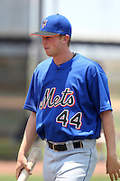 GCL Mets pitcher Adam O'Neill #44 during a game against the GCL Nationals at the Washington Nationals Minor League Complex on June 20, 2011 in Melbourne, Florida.  The Nationals defeated the Mets 5-3.  (Mike Janes/Four Seam Images)