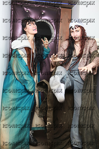 CocoRosie - Sierra (left) and Bianca Cassady - photosession in Paris France - 12 Mar 2013.  Photo credit: Manon Violence/Dalle/IconicPix