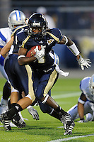 11 October 2008:  FIU wide receiver T.Y. Hilton (4) returns a kickoff in the FIU 31-21 victory over Middle Tennessee at FIU Stadium in Miami, Florida.
