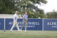 Gonzalo Fedz-Castano (ESP) and Kim Koivu (FIN) during the 2nd round of the Alfred Dunhill Championship, Leopard Creek Golf Club, Malelane, South Africa. 14/12/2018<br /> Picture: Golffile | Tyrone Winfield<br /> <br /> <br /> All photo usage must carry mandatory copyright credit (&copy; Golffile | Tyrone Winfield)