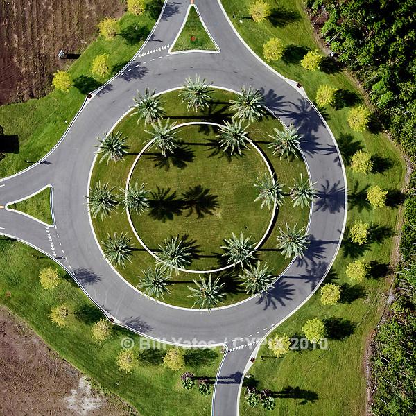 Traffic Circle, Nocatee, Florida