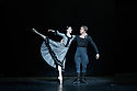 London, UK. 02.12.19. Svetlana Zakharova, the Bolshoi's Prima and the first and only Russian Etoile at Teatro alla Scala, returns to the London Coliseum, with MODANSE, a new double bill produced by Muzarts. Zakharova is joined on stage by a cast of dancers from the Bolshoi Ballet, including Mikhail Lobukhin, Vaycheslav Lopatin, Denis Savin, Jacopo Tissi and Ana Turazashvili. The piece shown is: 'Gabrielle Chanel', choreographed by Yuri Possokhov. The dancers include: Svetlana Zakharova (Gabrielle Chanel), Ana Turazashvili (Chanel's sister/aunt), Mikhail Lobukhin (Etienne Balsan), Jacopo Tissi (Arthur Capel), Denis Savin (Perfumer), Vyacheslav Lopatin (Serge Lifar/Apollo/Golfer). Picture shows: Svetlana Zakharova, Mikhail Lobukhin. Photograph © Jane Hobson.
