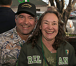 Todd Betterton and Monica Palmer on St. Patrick's Day in Reno on Friday, March 17, 2017.
