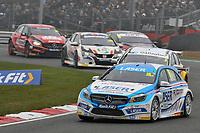 2019 British Touring Car Championship. Race 1. #16 Aiden Moffat. Laser Tools Racing. Mercedes Benz A-Class
