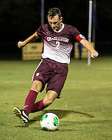 The Winthrop University Eagles played the College of Charleston Cougars at Eagles Field in Rock Hill, SC.  College of Charleston broke the 1-1 tie with a goal in the 88th minute to win 2-1.  Tam McGowan (2)