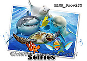 Howard, REALISTIC ANIMALS, REALISTISCHE TIERE, ANIMALES REALISTICOS, selfies, paintings+++++Ocean Selfie 2,GBHRPROV232,#a#, EVERYDAY ,unterwater,maritime,sharks, ,dolphoíne,dolphines,