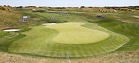 View of the 9th green during the preview days of the 2015 Alstom Open de France, played at Le Golf National, Saint-Quentin-En-Yvelines, Paris, France. /30/06/2015/. Picture: Golffile | David Lloyd<br /> <br /> All photos usage must carry mandatory copyright credit (&copy; Golffile | David Lloyd)