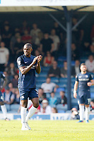 Man of the match Theo Robinson of Southend United receives a standing ovation as he leaves the pitch during the Sky Bet League 1 match between Southend United and MK Dons at Roots Hall, Southend, England on 21 April 2018. Photo by Carlton Myrie.