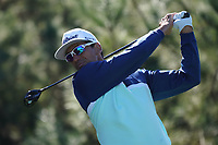 Rafa Cabrera Bello (ESP) in action at Monterey Peninsula during the first round of the AT&T Pro-Am, Pebble Beach Golf Links, Monterey, California, USA. 06/02/2020<br /> Picture: Golffile | Phil Inglis<br /> <br /> <br /> All photo usage must carry mandatory copyright credit (© Golffile | Phil Inglis)