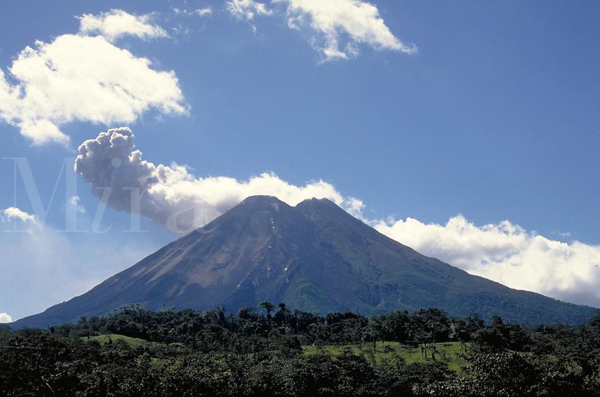 Arenal Volcano in Costa Rica. Fortuna, Costa Rica Arenal Volcano.
