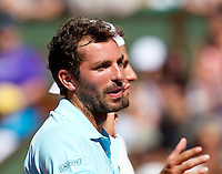 Julien Benneteau (FRA)..Tennis - Grand Slam - French Open- Roland Garros - Paris - Sat May 26th 2012..© AMN Images, 30, Cleveland Street, London, W1T 4JD.Tel - +44 20 7907 6387.mfrey@advantagemedianet.com.www.amnimages.photoshelter.com.www.advantagemedianet.com.www.tennishead.net