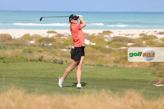 Linda Wessberg (SWE) during the second round of the Fatima Bint Mubarak Ladies Open played at Saadiyat Beach Golf Club, Abu Dhabi, UAE. 11/01/2019<br /> Picture: Golffile | Phil Inglis<br /> <br /> All photo usage must carry mandatory copyright credit (&copy; Golffile | Phil Inglis)