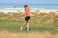 Linda Wessberg (SWE) during the second round of the Fatima Bint Mubarak Ladies Open played at Saadiyat Beach Golf Club, Abu Dhabi, UAE. 11/01/2019<br /> Picture: Golffile | Phil Inglis<br /> <br /> All photo usage must carry mandatory copyright credit (© Golffile | Phil Inglis)