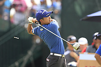 Shugo Imahira (JPN) tees off the 10th tee during Friday's Round 2 of the 117th U.S. Open Championship 2017 held at Erin Hills, Erin, Wisconsin, USA. 16th June 2017.<br /> Picture: Eoin Clarke | Golffile<br /> <br /> <br /> All photos usage must carry mandatory copyright credit (&copy; Golffile | Eoin Clarke)