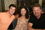 Ewa Da Cruz, Trent Dawson, Marnie Schulenberg, ATWT  attends the 22nd Annual Broadway Flea Market and Grand Auction to benefit Broadway Cares / Equity Fights Aids on Sunday 21, 2008 in Shubert Alley, New York City, NY. (Photo by Sue Coflin/Max Photos)