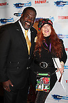 Jane Elissa with Phillip Boykin sings at Broadway - 2017 New Year's Eve Times Square Ball Drop at the Copacabana, New York City, New York with the Stars of Broadway. (Photo by Sue Coflin/Max Photos)  suemax13@optonline.net