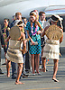 "CATHERINE, DUCHESS OF CAMBRIDGE AND PRINCE WILLIAM.received a traditional welcome on arrival at Honiara Airport at the start of thei 2 day visit to the Solomon Islands..After the arrival ceremony where they were presented with garlands the Royal Couple board a float in the shape of a fishing vessel for the drive to the local church for Sunday Mass. Large crowds of locals lined the route to caych a glimpse of the Kate and Prince William_16/09/2012.Mandatory credit photo: ©Dias/DIASIMAGES..(Failure to credit will incur a surcharge of 100% of reproduction fees)..                **ALL FEES PAYABLE TO: ""NEWSPIX INTERNATIONAL""**..IMMEDIATE CONFIRMATION OF USAGE REQUIRED:.DiasImages, 31a Chinnery Hill, Bishop's Stortford, ENGLAND CM23 3PS.Tel:+441279 324672  ; Fax: +441279656877.Mobile:  07775681153.e-mail: info@newspixinternational.co.uk"
