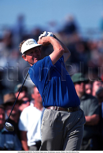 COLIN MONTGOMERIE, The British Open 2000, St Andrews, 000720. Photo: Glyn Kirk/Action Plus...2000.golf.golfer golfers