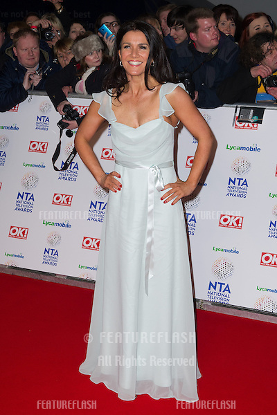 Susannah Reid arriving for the National TV Awards 2014, at the O2, London. 22/01/2014 Picture by: Dave Norton / Featureflash