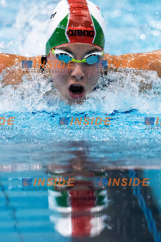 SZILAGYI Liliana HUN<br /> London, Queen Elizabeth II Olympic Park Pool <br /> LEN 2016 European Aquatics Elite Championships <br /> Swimming<br /> Women's 200m butterfly semifinal<br /> Day 13 21-05-2016<br /> Photo Giorgio Perottino/Deepbluemedia/Insidefoto