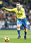 UD Las Palmas' Roque Mesa during La Liga match. March 1,2017. (ALTERPHOTOS/Acero)