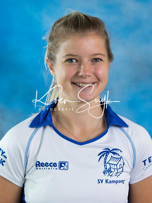 UTRECHT - Sophie Bray, Dames I van Kampong , seizoen 2017-2018 . COPYRIGHT KOEN SUYK