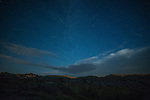 2016 Perseids meteor shower over the Badlands NP