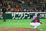 Tadashi Settsu (JPN), .MARCH 2, 2013 - WBC : .2013 World Baseball Classic .1st Round Pool A .between Japan 5-3 Brazil .at Yafuoku Dome, Fukuoka, Japan. .(Photo by YUTAKA/AFLO SPORT) [1040]