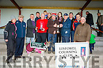 GLENLOUGH DIXIE winner of the OAKS TRIAL STAKE at the Listowel Coursing on Sunday owner John Murphy