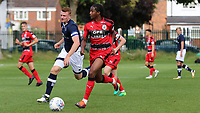 Deshane Dalling of Huddersfield Town in action during Millwall Under-23 vs Huddersfield Town Under-23, Professional Development League Football at Millwall Training Ground on 14th August 2017