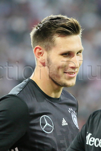 31.08.2016 Moenchengladbach, Germany. International football freindly. Germany versus Finland. Niklas Sule (Germany)
