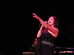 Linda Eder performing her show 'A New Life' at The Town Hall on October 13, 2012 in New York City.