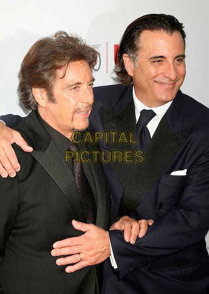 AL PACINO & ANDY GARCIA.35th Annual AFI Life Achievement Award Honoring Al Pacino at the Kodak Theatre, Hollywood, California, USA.7 June 2007..half length hugging.CAP/ADM/BP.©Byron Purvis/AdMedia/Capital Pictures.