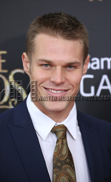 Brock Harris attends the 'Into The Woods' World Premiere at Ziegfeld Theater on December 8, 2014 in New York City.