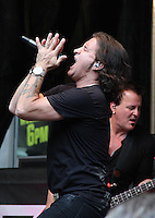 NEW YORK, NY - JULY 8: Scott Stapp performs at 'FOX and Friends All-American Summer Concert Series'   in New York, New York on July 5, 2016.  Photo Credit: Rainmaker Photo/MediaPunch
