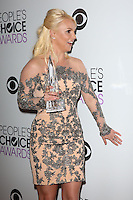 Britney Spears<br /> at the 40th People's Choice Awards Press Room, Nokia Theatre, Los Angeles, CA 01-08-14<br /> David Edwards/DailyCeleb.com 818-249-4998