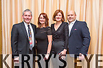 Aspen Grove Solutions.  Chuck Sockol, Kristi Christopher, Caitriona Py Collins, Guillaume Py enjoying a festive night out at fels point Hotel on Saturday