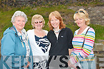 Attending the annual mass on the pier in Brandon last Sunday were local ladies L-R Sile I mHaolchatha,Eibhlin Ui Neill,Cait Nic Gearailt,agus Martina Ui Ealaithe..