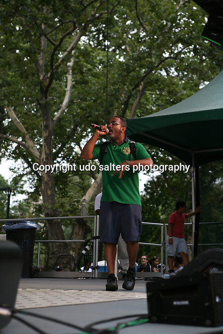 Large Proferssor Performs at  Rock Steady Crew 36th Year Anniversary Celebration at Central Park's SummerStage, NY