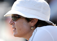 Day three of the University of Miami Fall Classic tennis tournament at Coral Gables, Florida on Sunday, November 12, 2006...Women's Tennis Coach Ronni Bernstein<br />